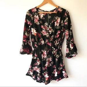 AMBIANCE floral romper
